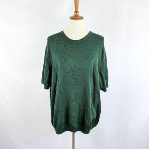 3/$15 Pullover Short Sleeve Sweater Crew Neck